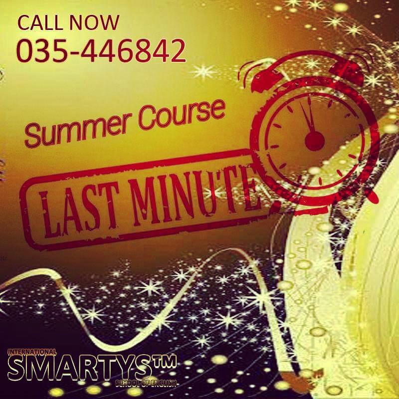 Last minute call for Summer Programlimited seats!!!