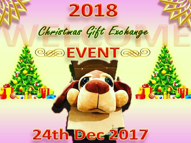 We are having a Christmas Gift Exchange event on thehellip